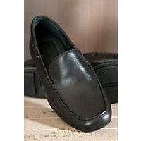 Mens Born Marcus Leather Shoes BLACK Size 10