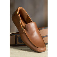 Mens Born Marcus Leather Shoes CHESTNUT Size 12