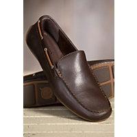 Mens Born Marcus Leather Shoes MAHOGANY Size 10