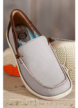 Men's Born Crest Waterproof Leather Slip-On Shoes