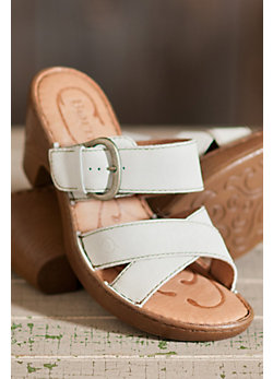Women's Born Salima Double-Strap Leather Sandals