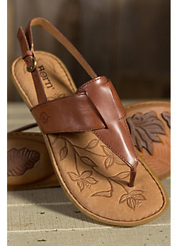 Women's Born Trini Leather Sandals