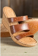 Women's Born Marjorie Leather Slide Sandals