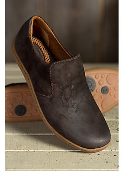 Men's Born Galen Suede Slip-On Shoes