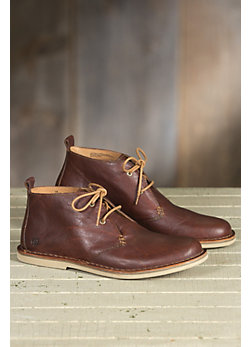 Men's Born Anders Short Leather Boots