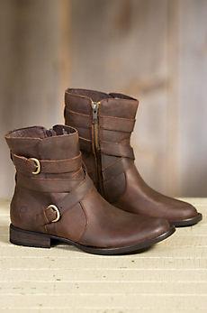 Women's Born McMillan Waterproof Leather Boots
