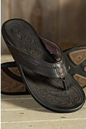 Men's Olukai Hiapo Leather Sandals