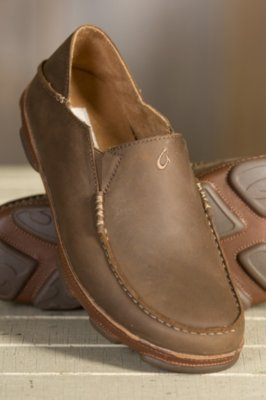 Men's Olukai Moloa Leather Shoes