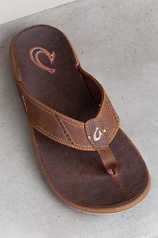 Men's OluKai Nui Leather Sandals