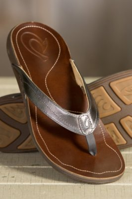 Women's Olukai Kumu Leather Sandals