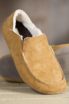 Men's OluKai Moala Sheepskin Slippers