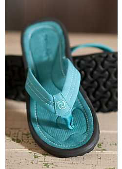 Women's Rafters Breeze Leather Thong Sandals