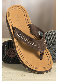 Men's Rafters San Poncho Leather Sandals
