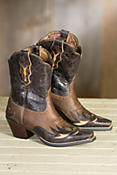 Women's Ariat Dahlia Leather Cowboy Boots