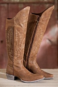 Women's Ariat Murrieta Knee-High Leather Cowboy Boots