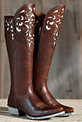 Women's Ariat Hacienda Leather Boots