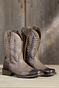 Men's Ariat Rambler Flint Leather Cowboy Boots