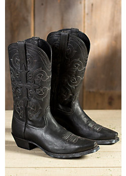 Men's Ariat Fearless Leather Cowboy Boots