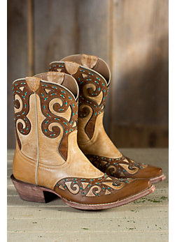 Women's Ariat Rio Leather Cowgirl Boots