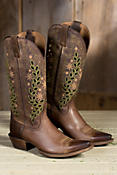 Women's Ariat Arrosa Leather Cowboy Boots