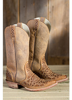 Women's Ariat Meridian Leather Cowboy Boots