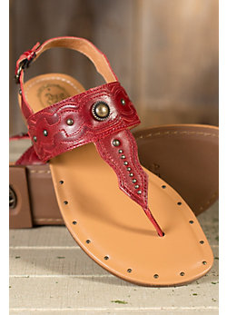 Women's Ariat Verge Leather Sandals
