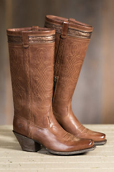 Women's Ariat Trinity Leather Cowboy Boots