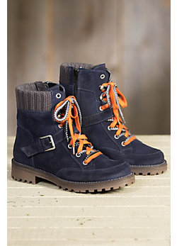 Women's Bos & Co Colony Waterproof Suede Boots