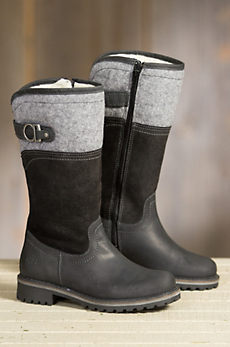 Women's Bos & Co Hawker Merino Wool-Lined Waterproof Leather Boots