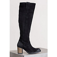 Women's Bos & Co Horton Waterproof Suede Boots, BLACK