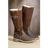 Women's Bos & Co Hailey Tall Waterproof Suede Boots, DARK BROWN/COFFEE