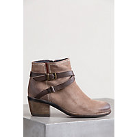 Bos & Co Greenville Waterproof Suede Ankle Boots, TAUPE/NOUGAT
