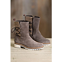 Bos & Co Cascade Waterproof Suede Boots, GREY