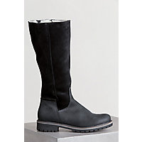 Women's Bos & Co Hudson Wool-Lined Waterproof Leather Boots