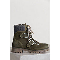 Women's Bos & Co Corral Waterproof Suede Boots