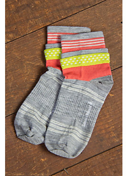 Women's SmartWool Dots Merino-Blend Roll Top Wool Socks
