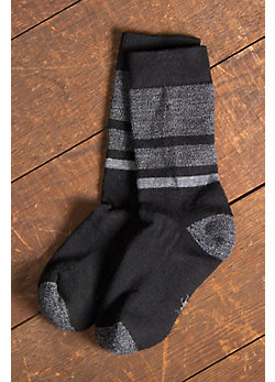 Men's SmartWool Shed Stripe Merino-Blend Wool Crew Socks