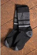 Men's SmartWool Shed Stripe Merino-Blend Wool Crew Socks