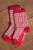 Women's SmartWool Traditional Snowflake Merino-Blend Wool Crew Socks