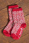 Women's SmartWool Traditional Snowflake Merino-Blend Wool Crew Socks