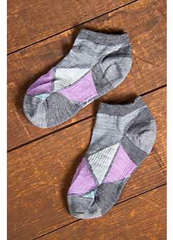 Women's SmartWool Diamond Point Merino-Blend Wool Micro Socks