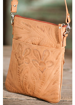 Women's  Cross-Body Leather Handbag