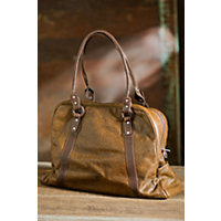 Vintage Oversize Leather Tote