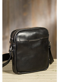 Coronado Leather Messenger Bag