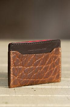 Coronado Bison Leather Slim Wallet
