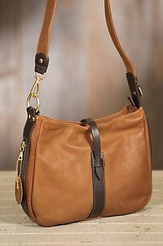 Coronado Anne Leather Crossbody Handbag with Concealed Carry Pocket