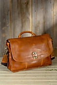 Kent Bridle Leather Messenger Bag
