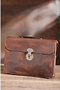 Jacques Vintage Leather Portfolio