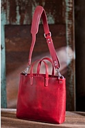 Will Douglas Italian Leather Tote Bag