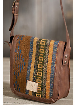 Oaxacan Small Crossbody Leather Bag